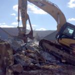 Woodbury Commons demolition project, Orange County, NY.